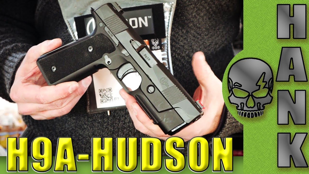 Hudson H9 & Aluminum H9A Plus Threaded Barrels Media Day On The Range SHOT Show 2018