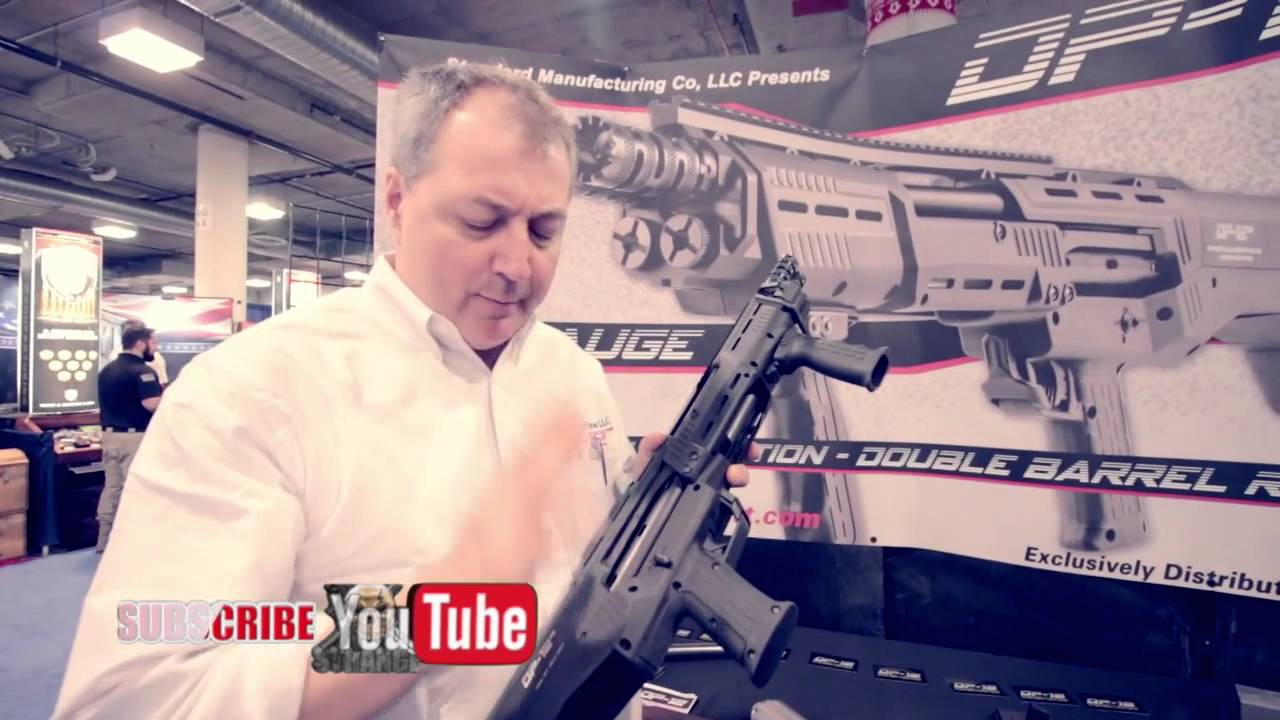 DP-12 Double Barreled Pump Shotgun SHOT Show 2015