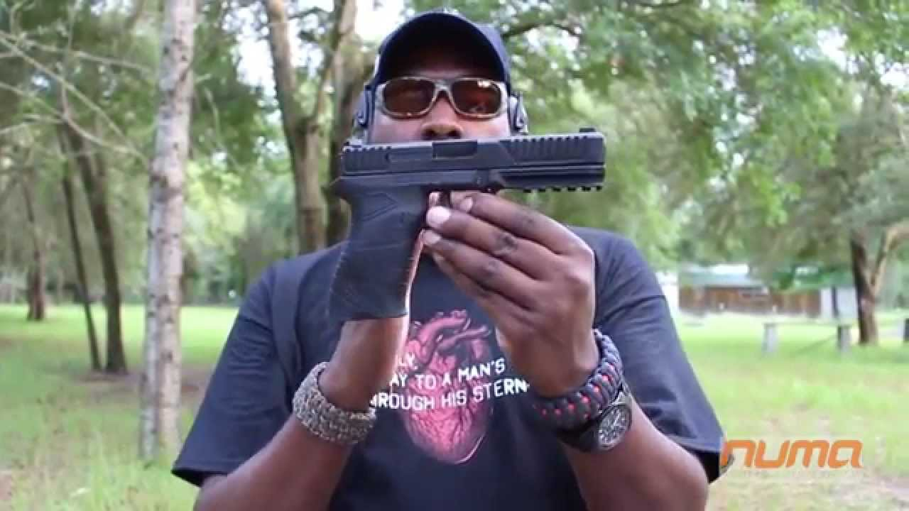 Shooting Diamondback DBFS9 Pistol First Impressions