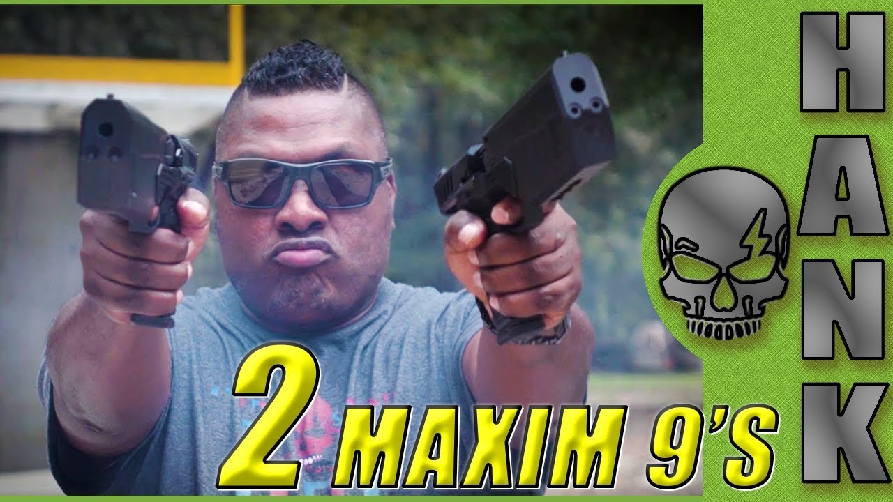 Maxim 9: Dual Wielding Integrally Suppressed Pistols from SilencerCo