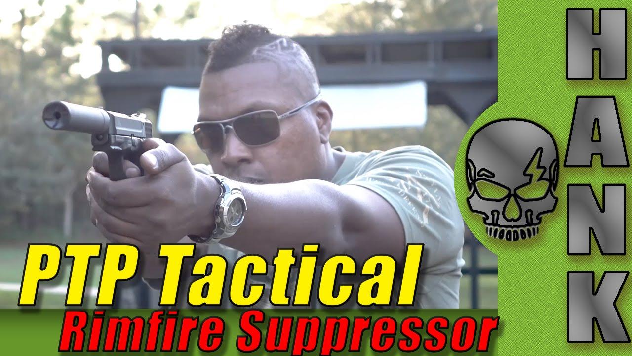 PTP Tactical Rimfire Suppressor