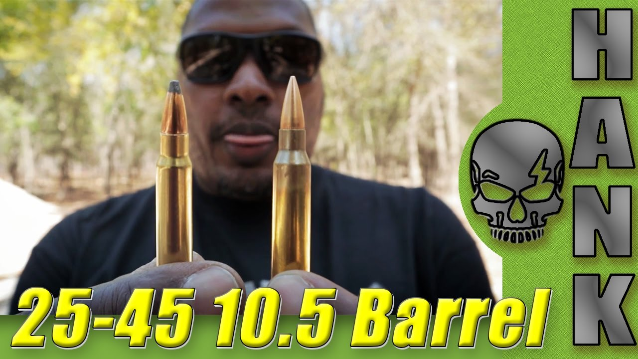 Sharps 25-45 Vs. 556 In Short Barrel Rifles