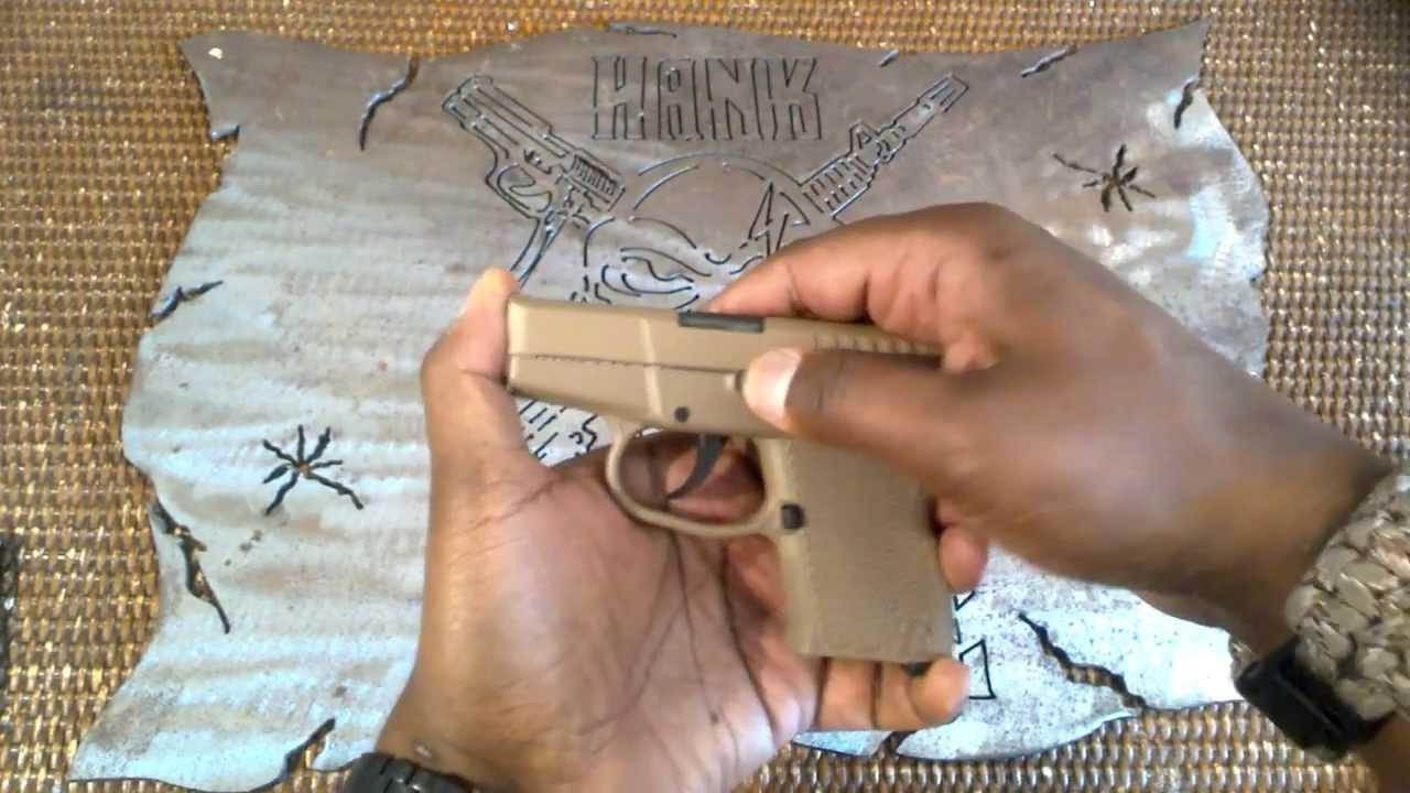 Kel Tec P3AT .380 ACP Sub-Compact EDC Pistol Takedown and Reassembly