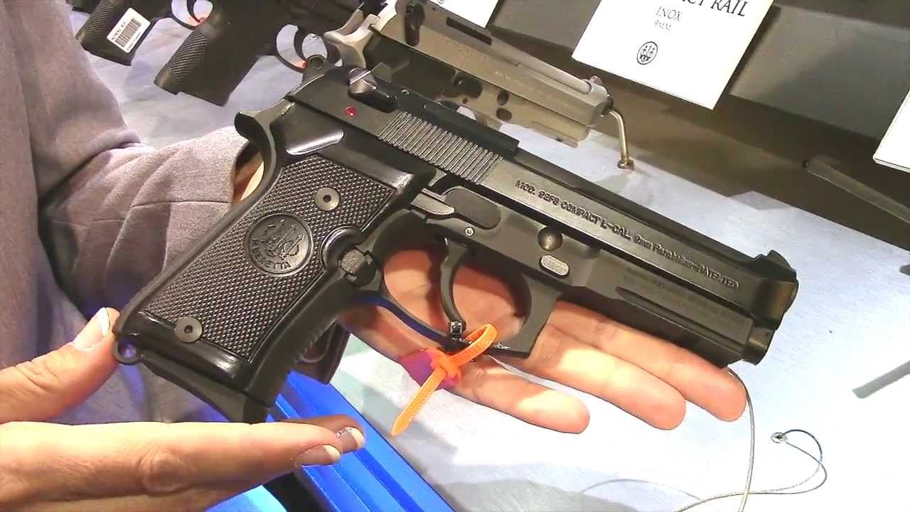 Beretta Booth 2014 Shot Show ARX100 PICO .380 and the 92 FS Compact with Hank & Lola Strange