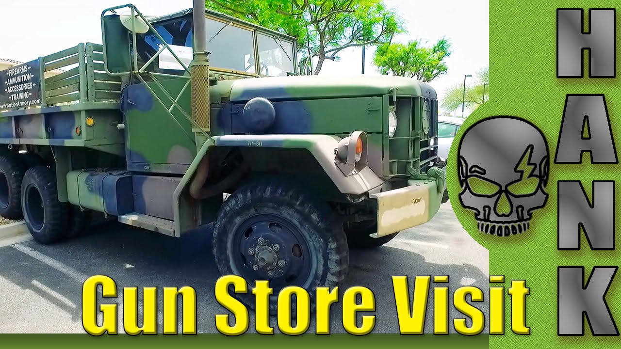 New Frontier Armory Gun Store Visit Nevada