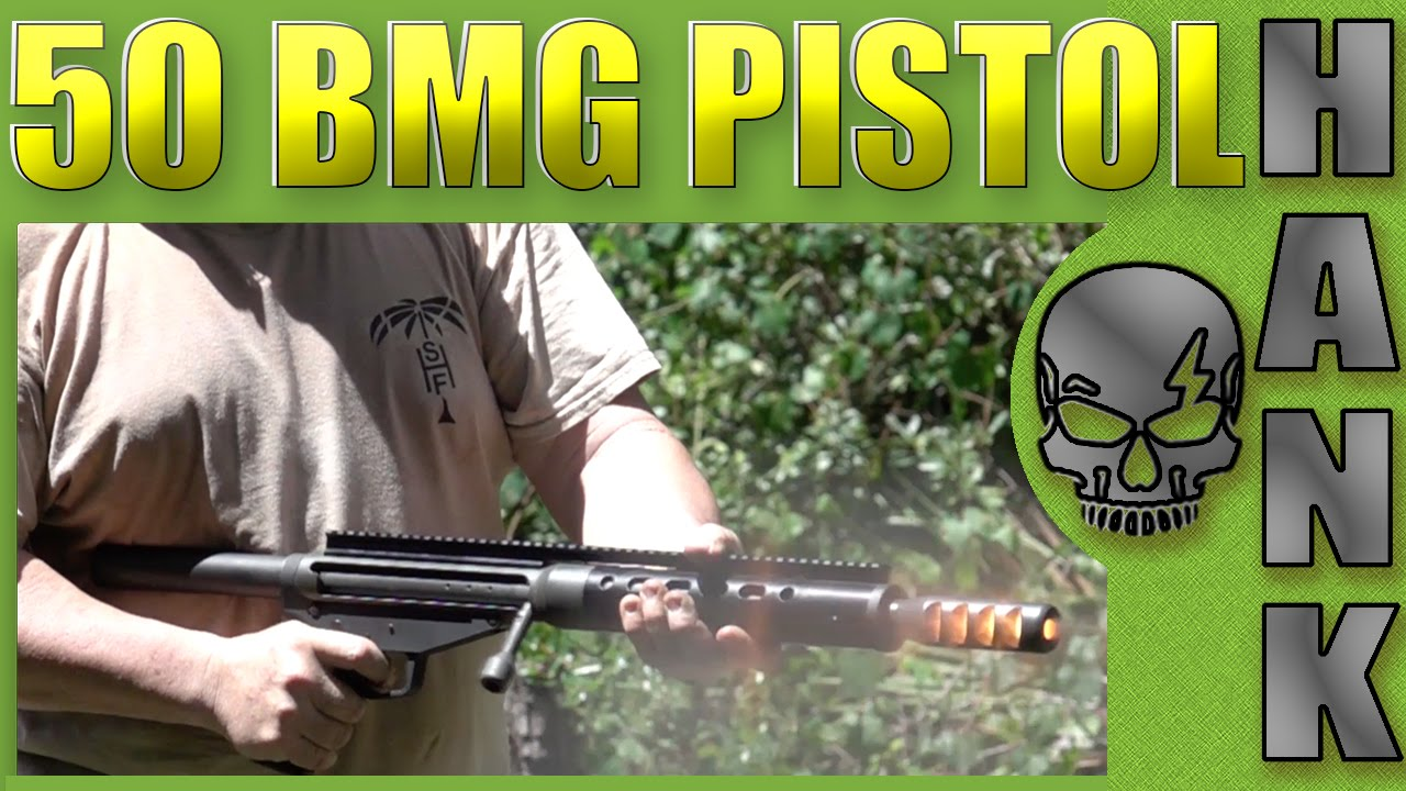 50 BMG Pistol Ridiculous Guns