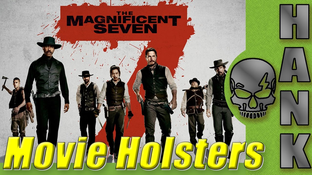 The Magnificent Seven Movie Holsters