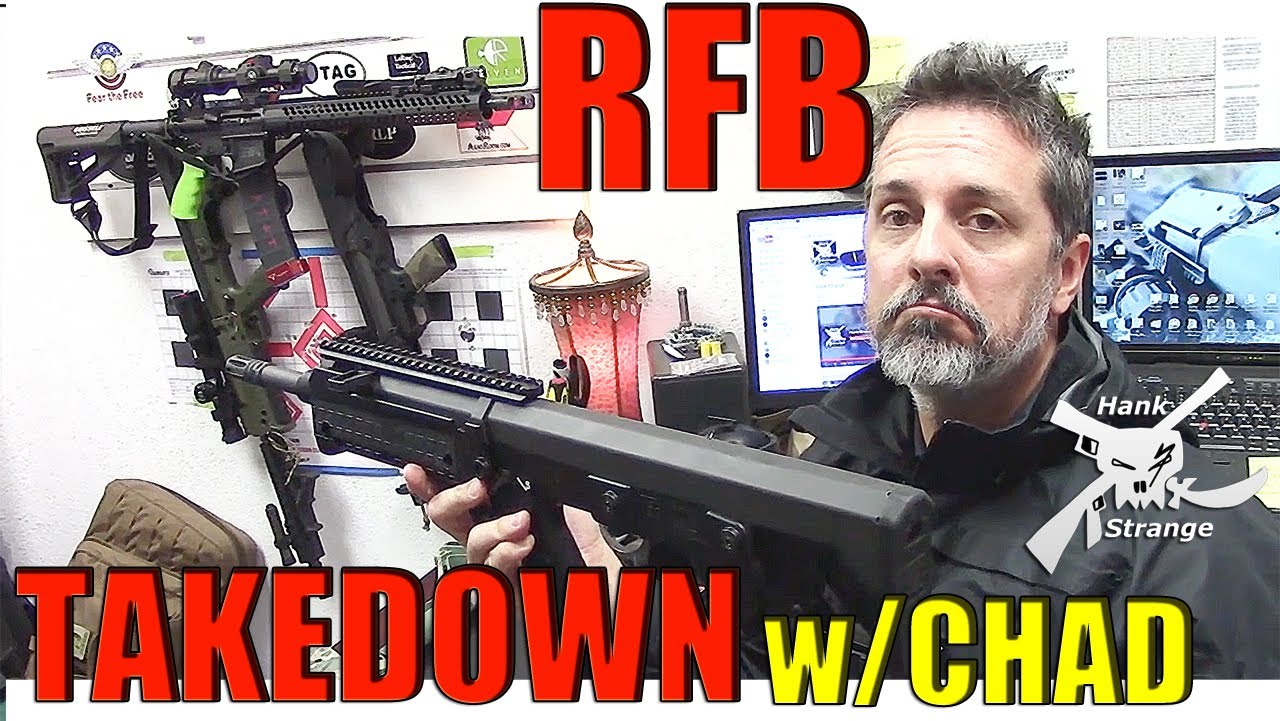 Kel Tec RFB 308 Bullpup Rifle Takedown & Reassembly