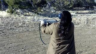 Mari Shooting an AK for the First Time
