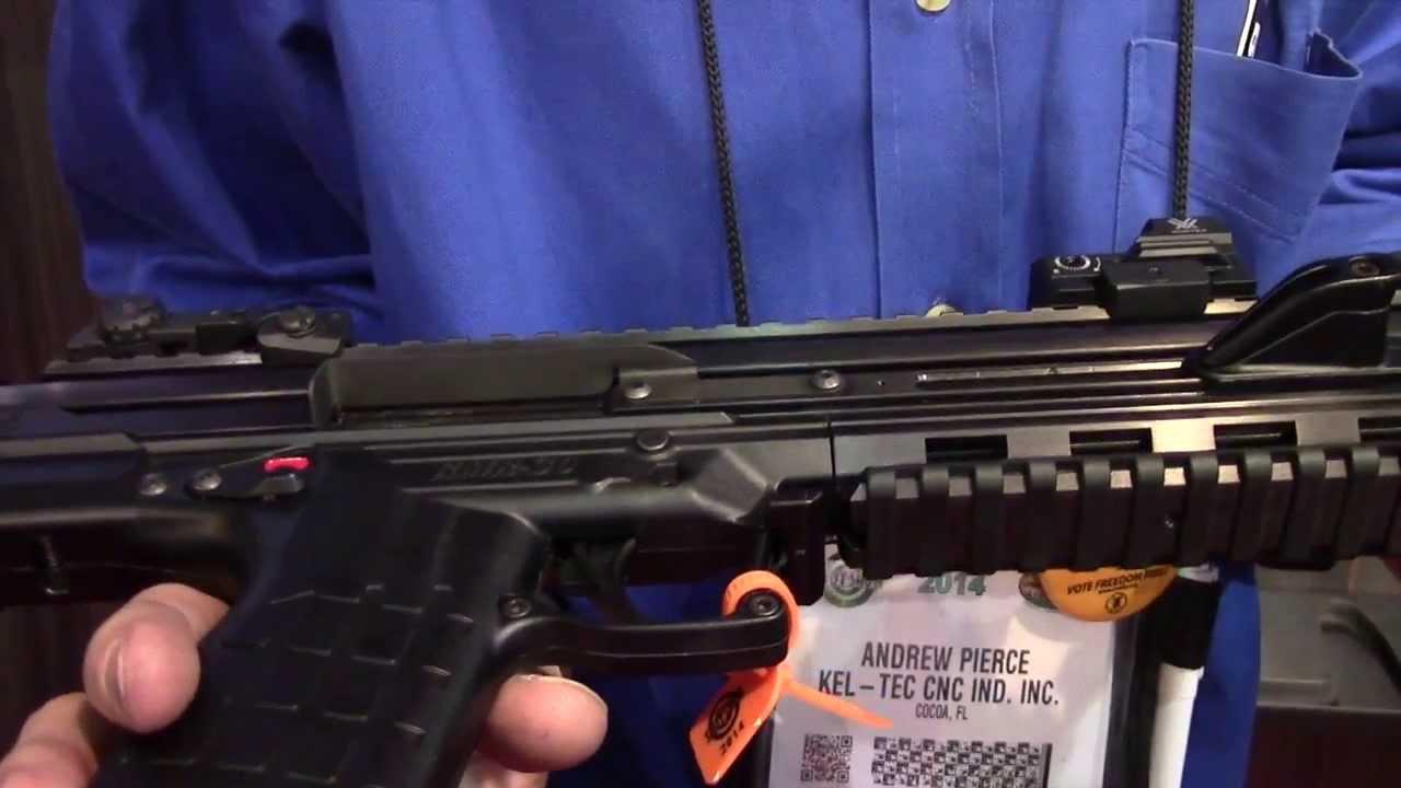 Kel-Tec RMR 30 22 Magnum Carbine Shot Show 2014