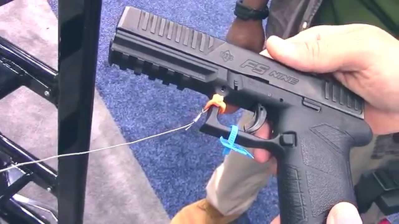 Diamondback Firearms FS9 Full Size 9mm Handgun at 2014 NRA Annual Meeting