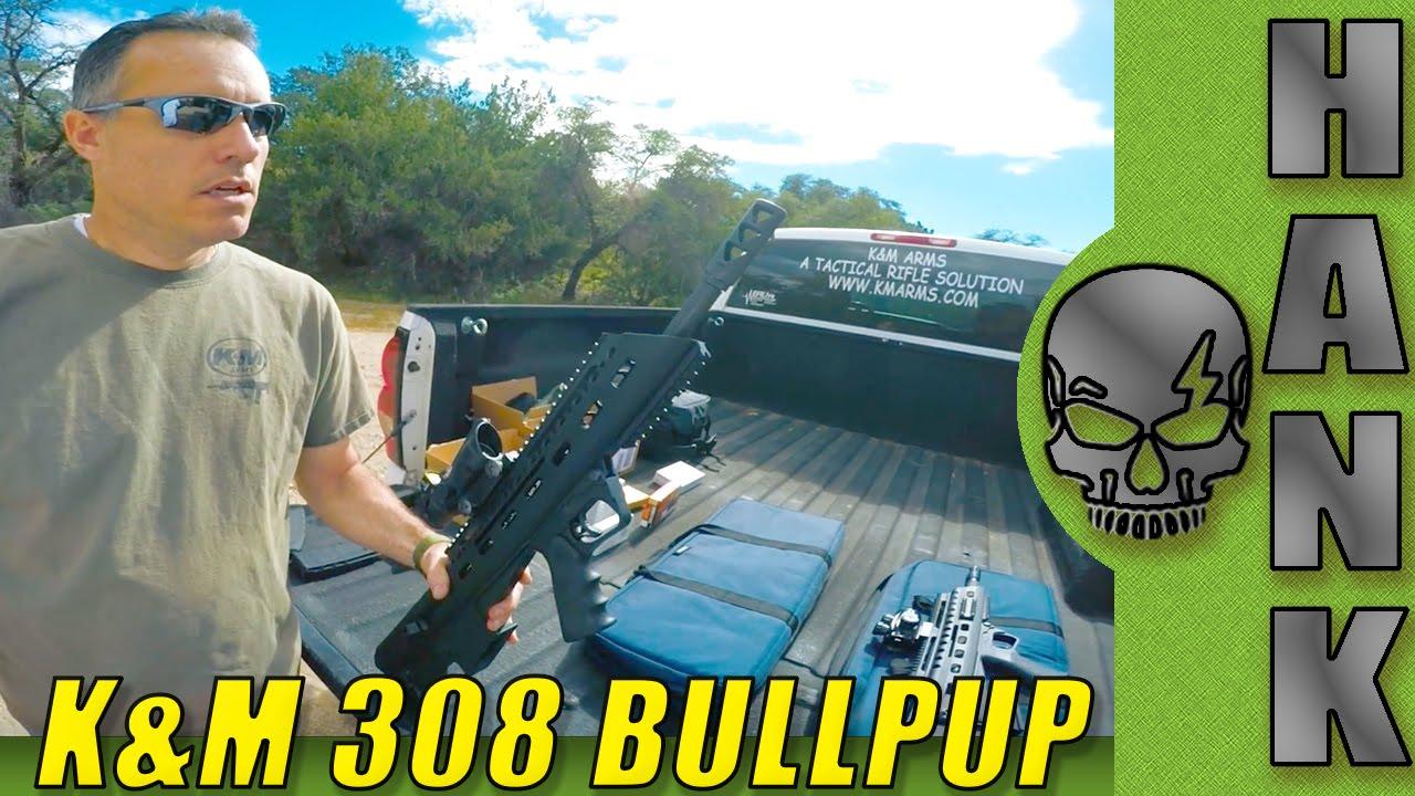 K&M Arms 308 Bullpup Rifle Prototype Details
