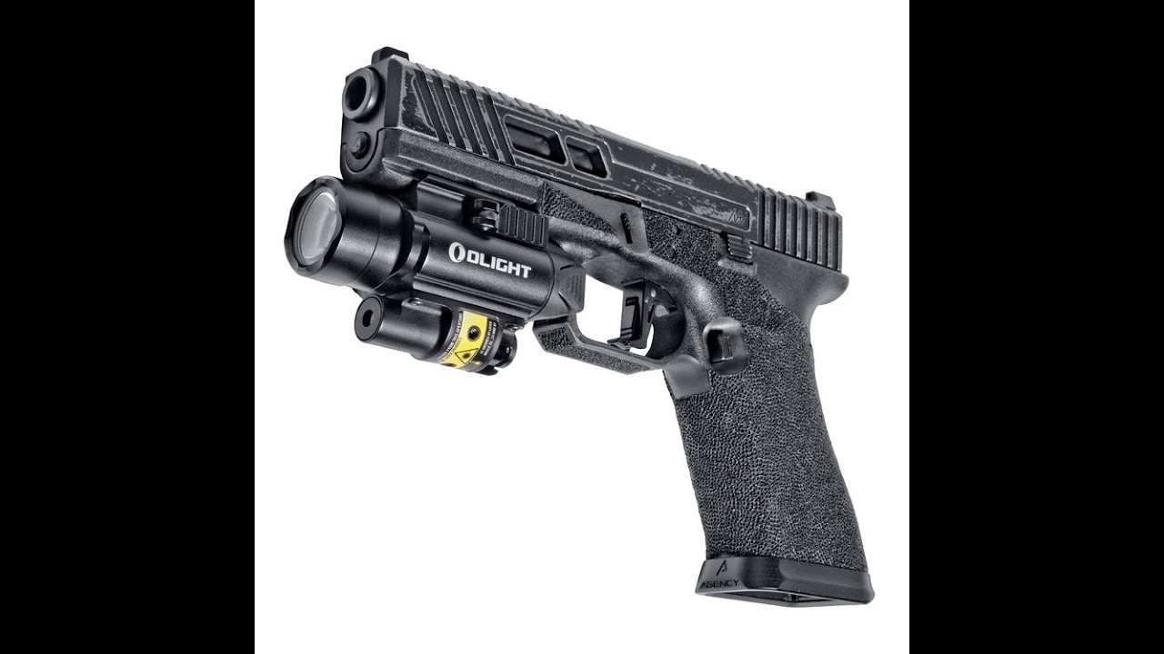 Olight PL-2RL BALDR *Weapon Mounted Light With Laser*