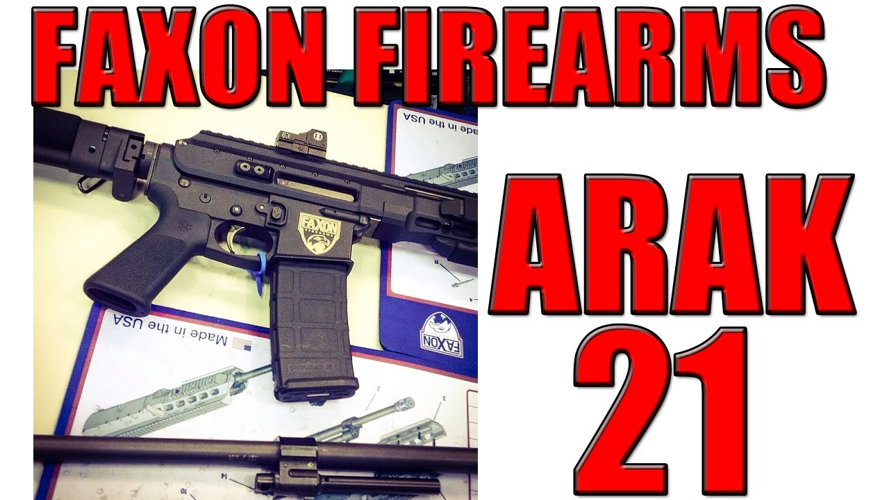 Faxon Arak 21 Part AR-15 Part AK-47 At NRA Annual Meeting 2014
