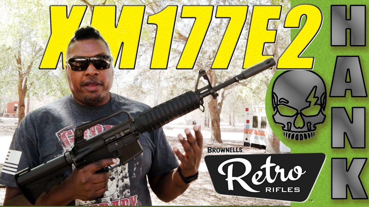 Brownells Retro XM177E2 Vietnam Era Carbine New for 2018