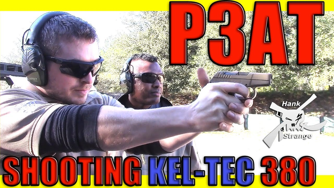 Shooting Kel Tec P3AT 380 ACP Pocket Pistol First Impressions