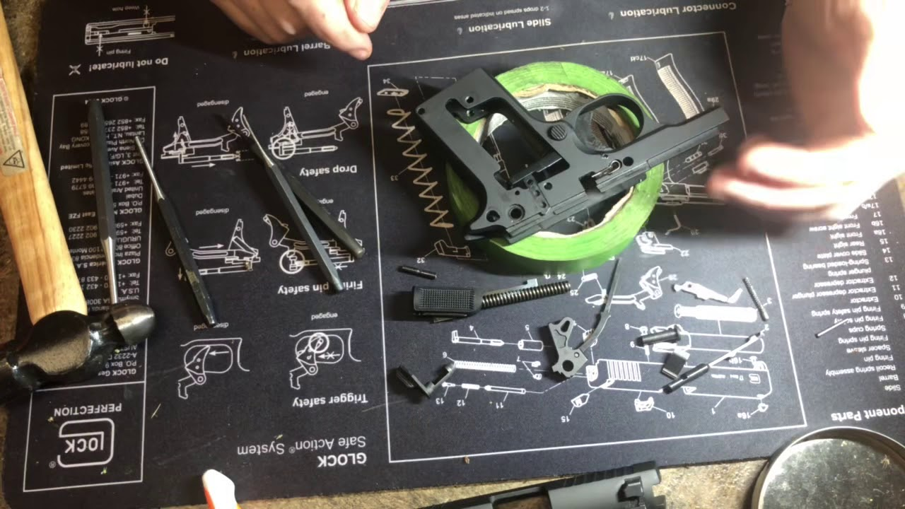 SIG Sauer p238 or p938 Complete Disassembly/Assembly