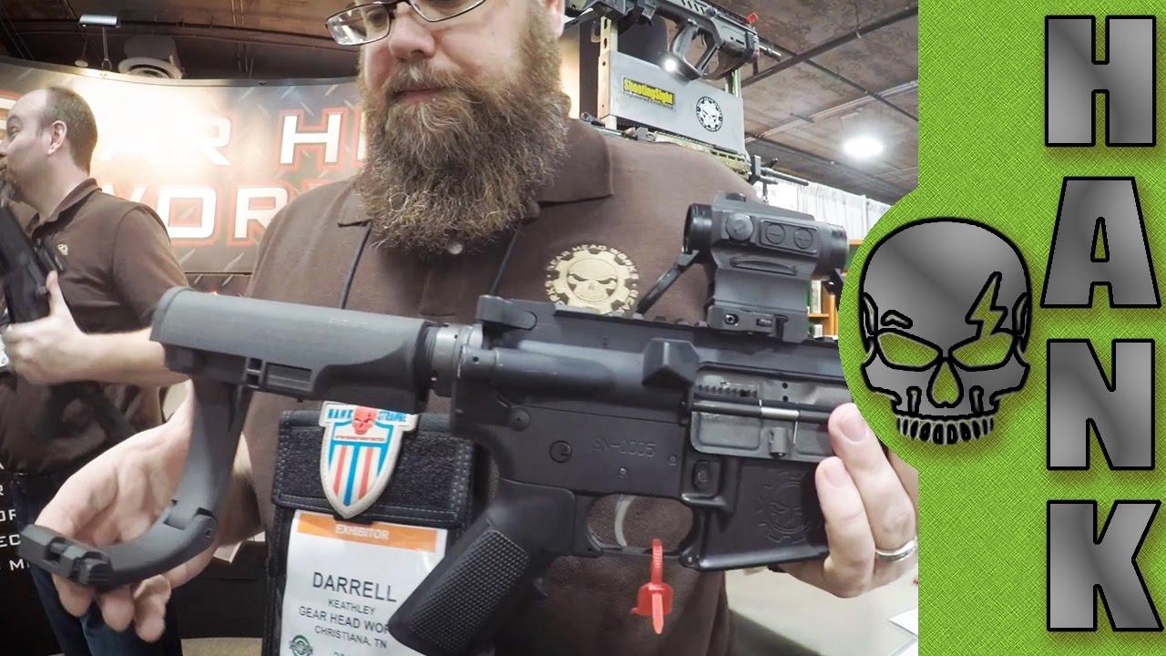 Tailhook Pistol Brace SHOT Show 2017