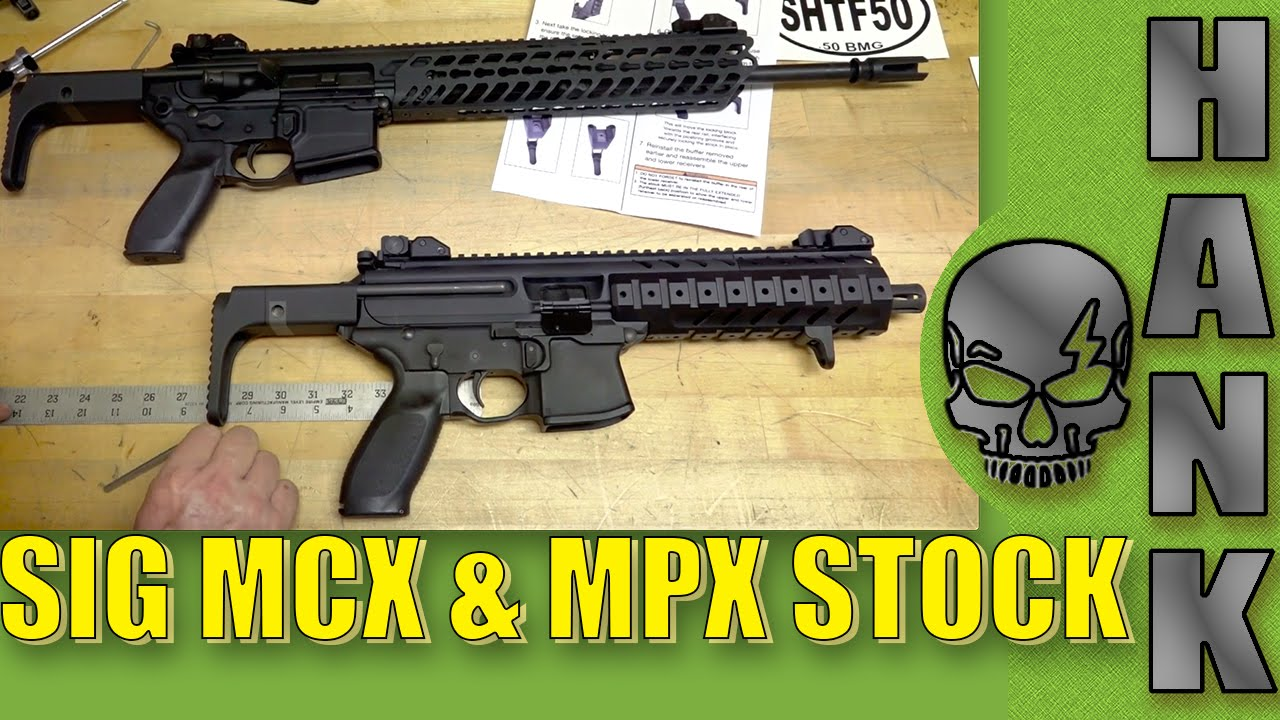 SIG MCX & MPX Stock How To Install