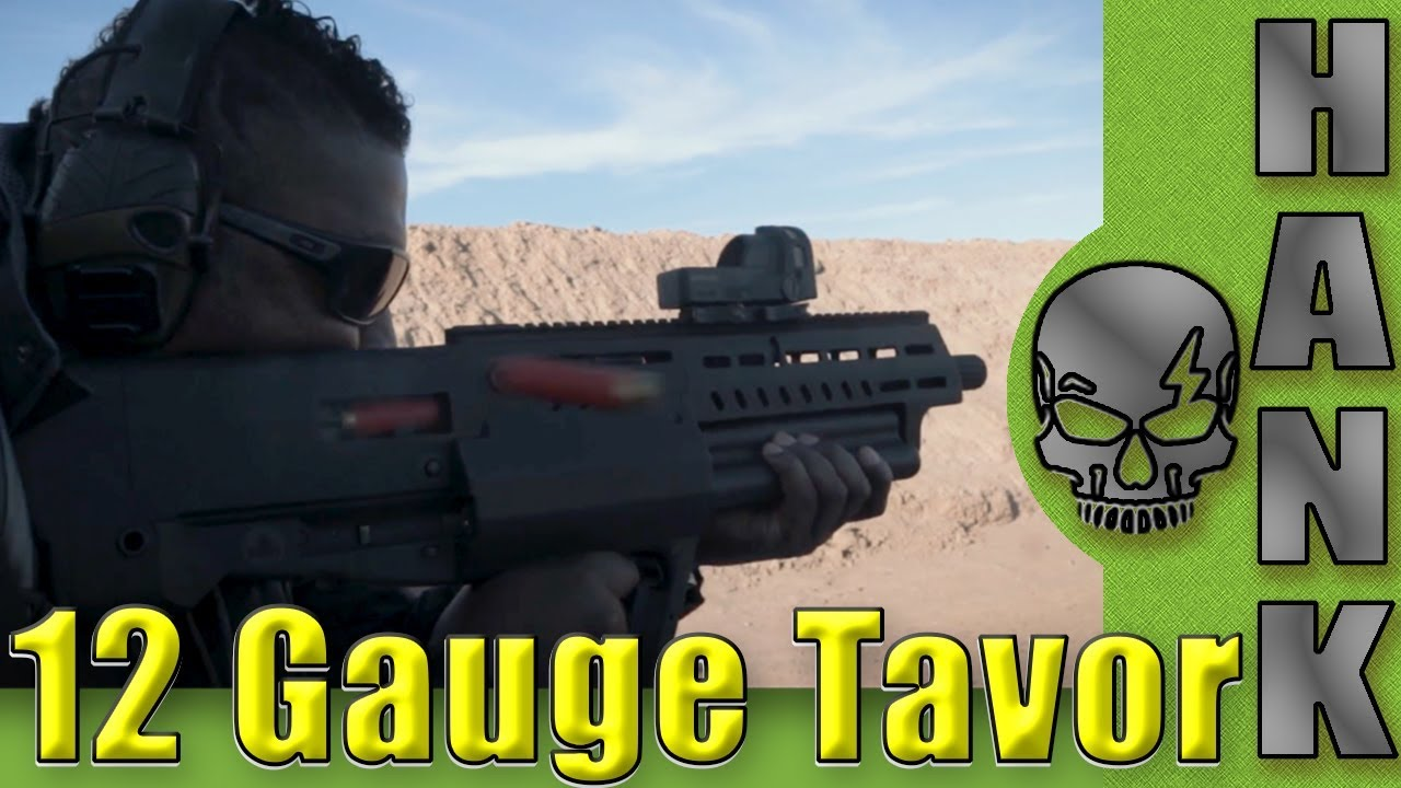 IWI Tavor TS12 and Tavor 7 Media Day On The Range SHOT Show 2018