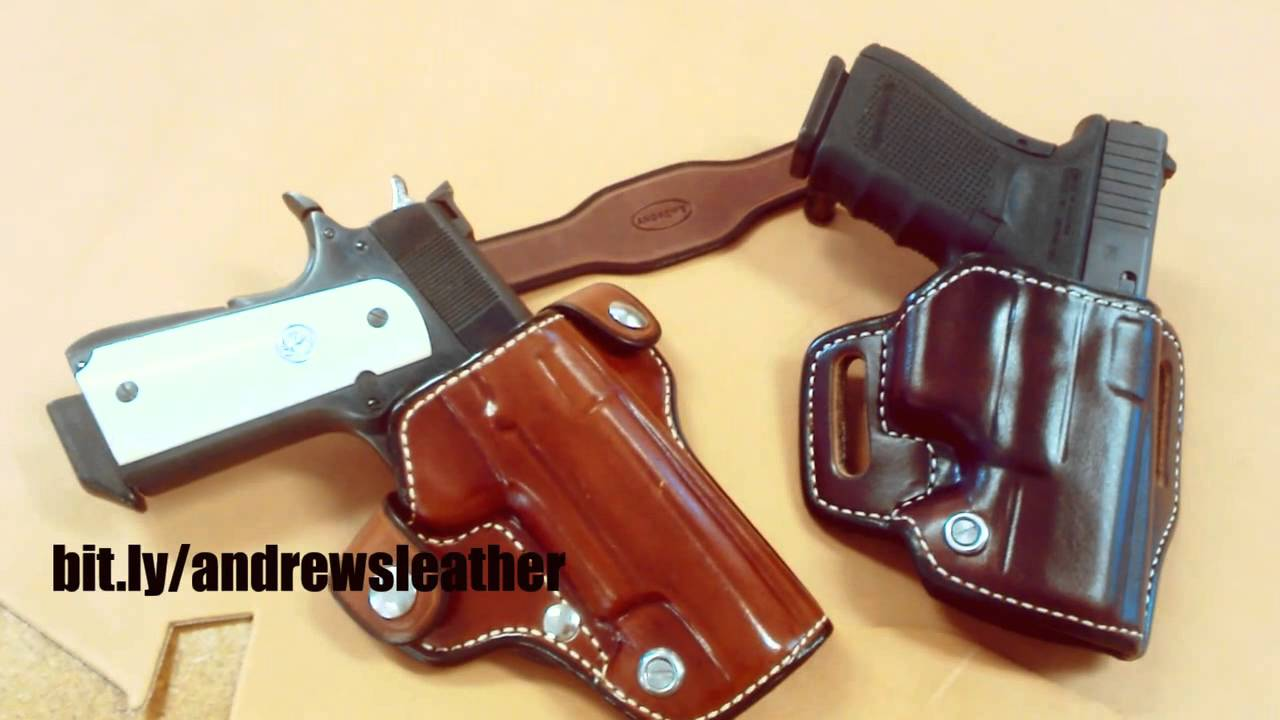 Andrews Leather Holster Plus extra's Giveaway