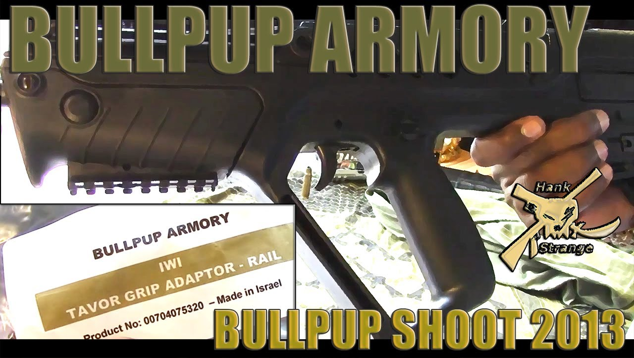 IWI Tavor Rifle Accessories from Bullpup Armory Foregrip Rail Install