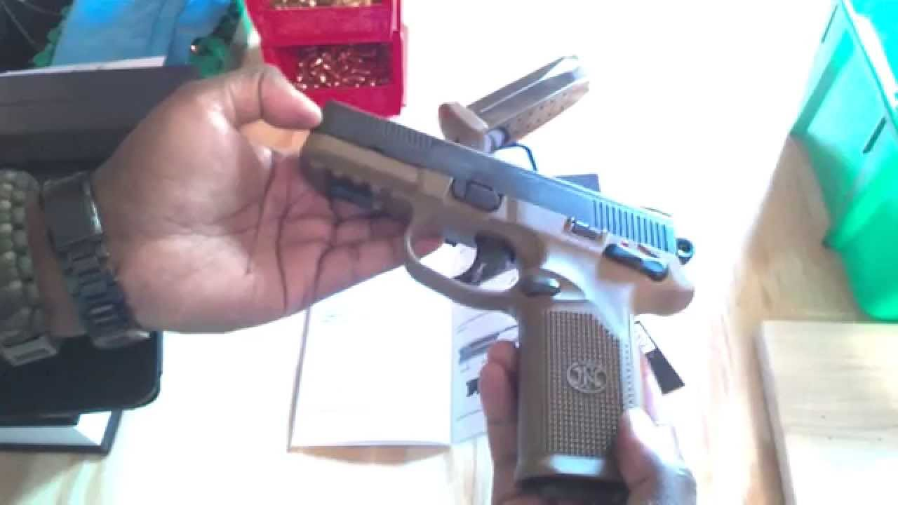 FN FNX-45 45ACP Full Size Pistol Takedown and Reassembly