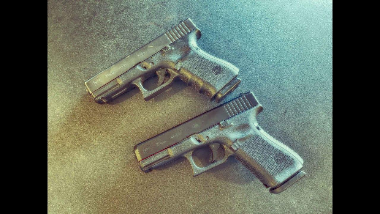 Glock 19 gen 4 vs gen 5