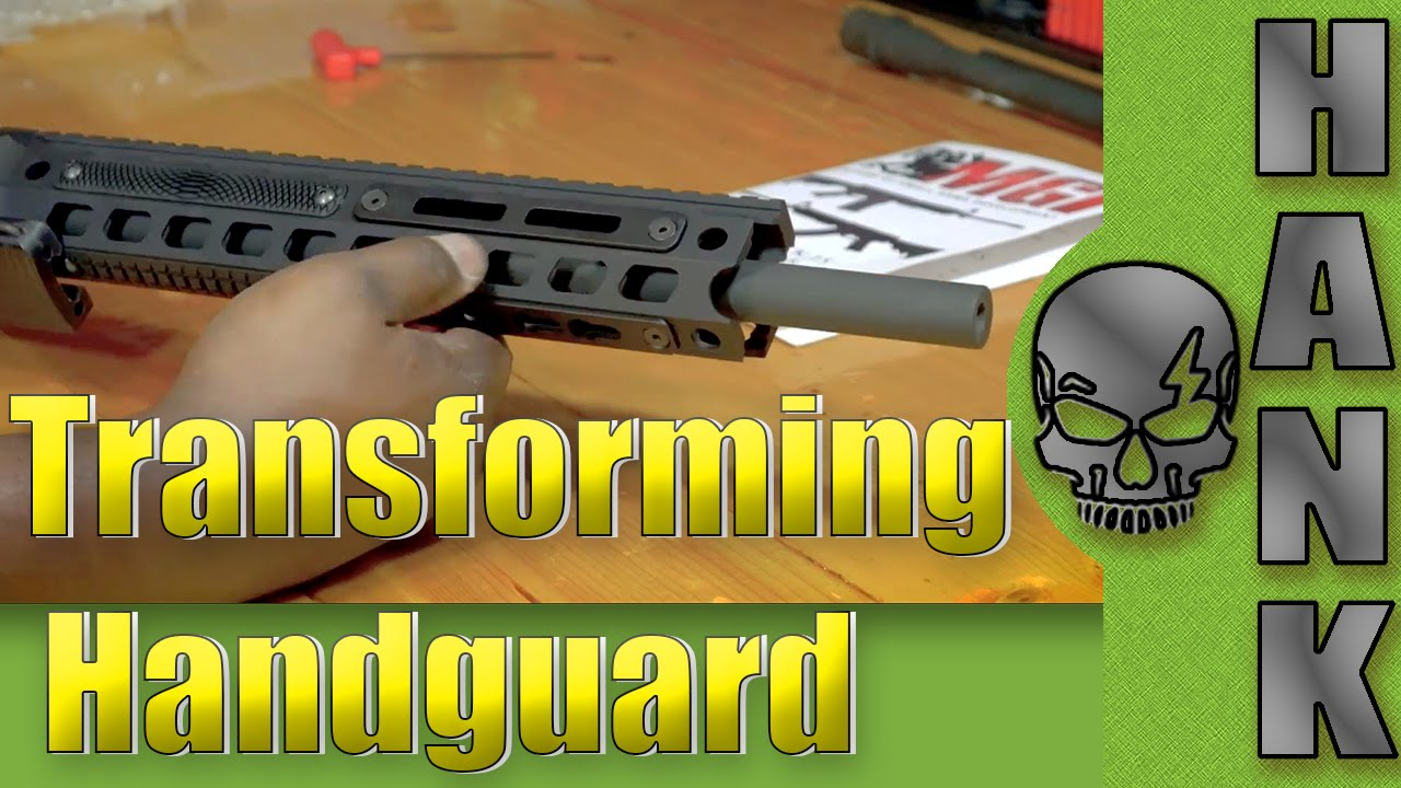 Transforming Handguard for Hydra Rifle