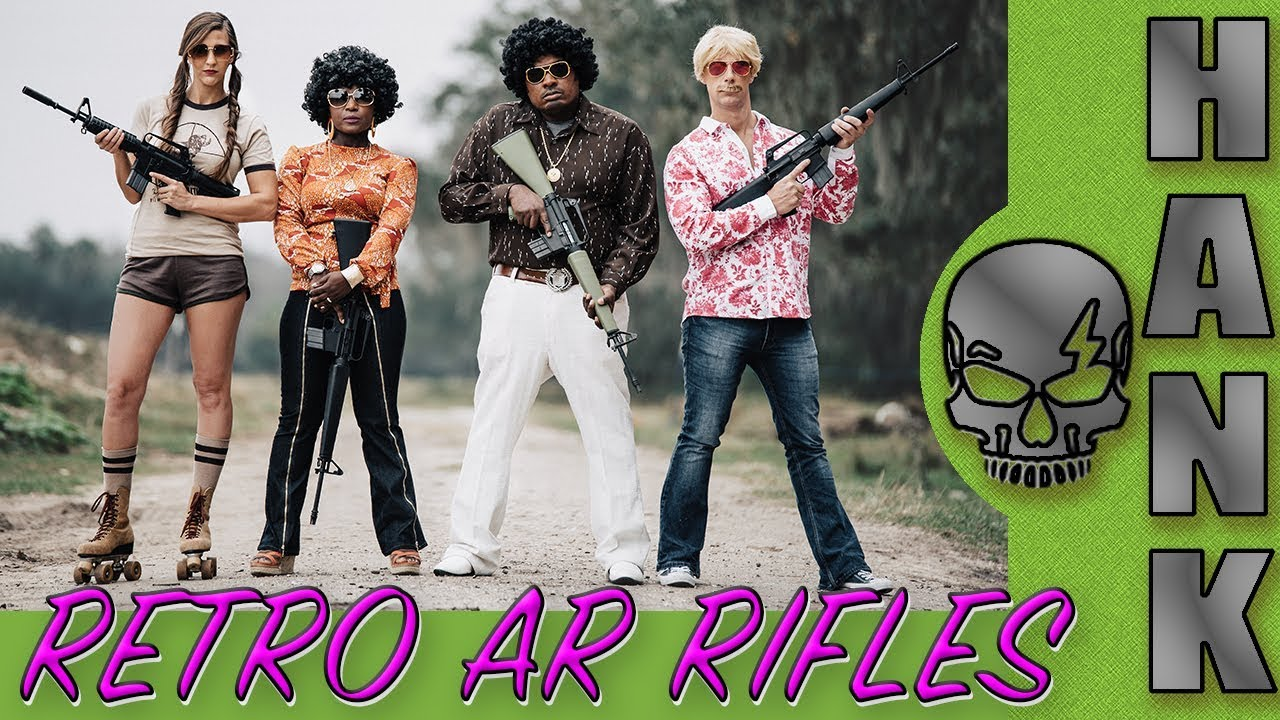 Brownells Retro AR Rifles Reveal SHOT Show 2018 & 70's Classic Hot Rods!?!