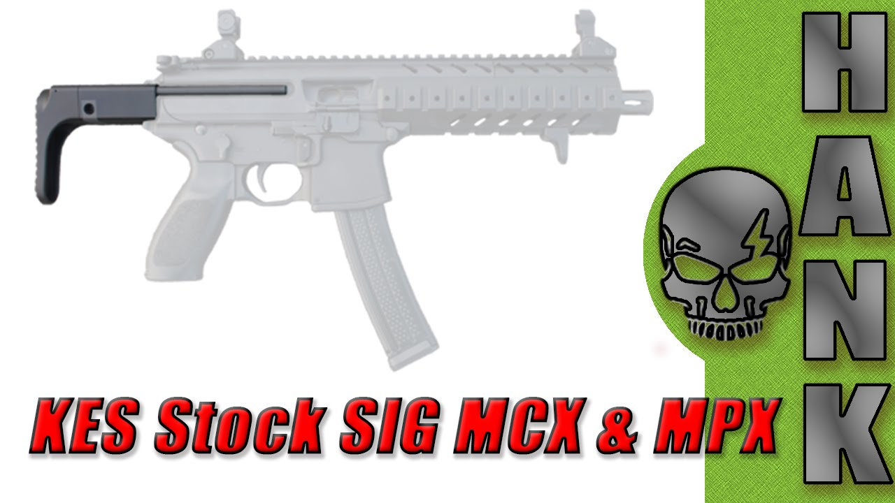 SIG MCX & MPX KES Stock SHOT Show 2016