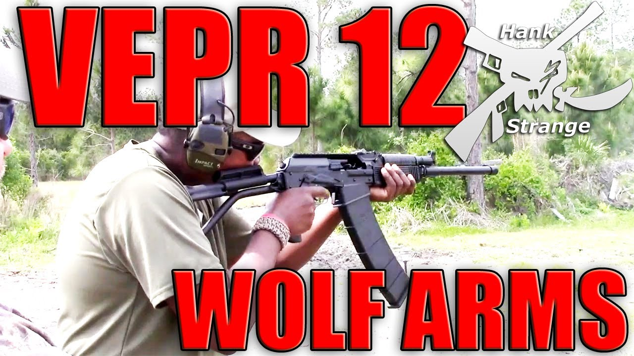 Shooting VEPR 12 Gauge Shotgun