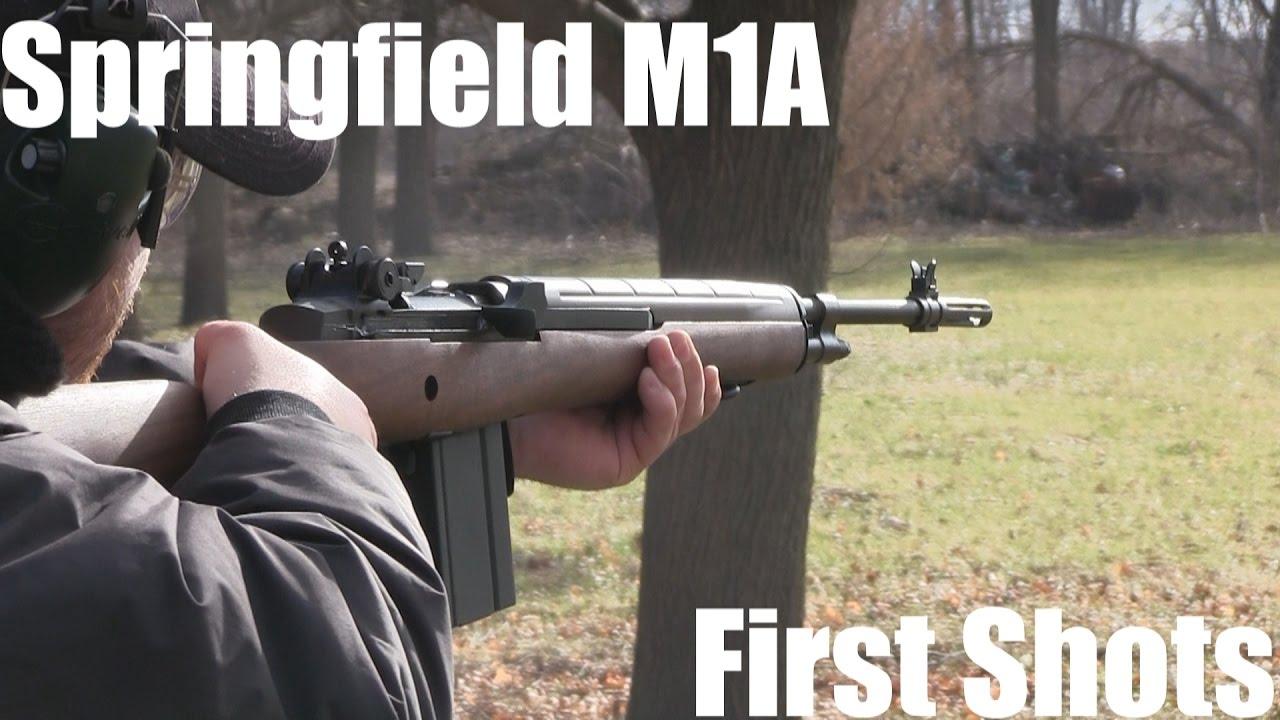 Springfield M1A - First Shots