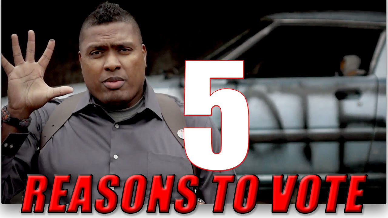 Countdown: Top 5 Reasons Why I Have To Vote
