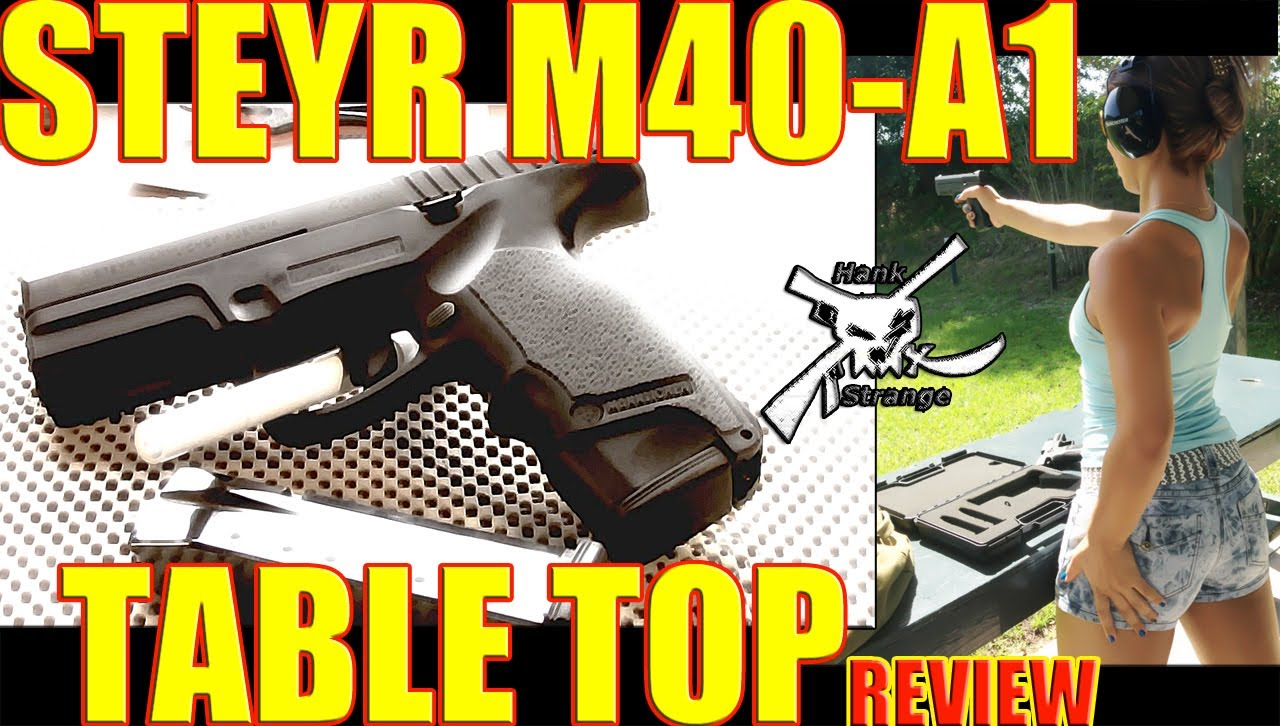 Compact Handgun Steyr M40 A1 vs  Glock 19 vs  Sig P229 Shootout / Review