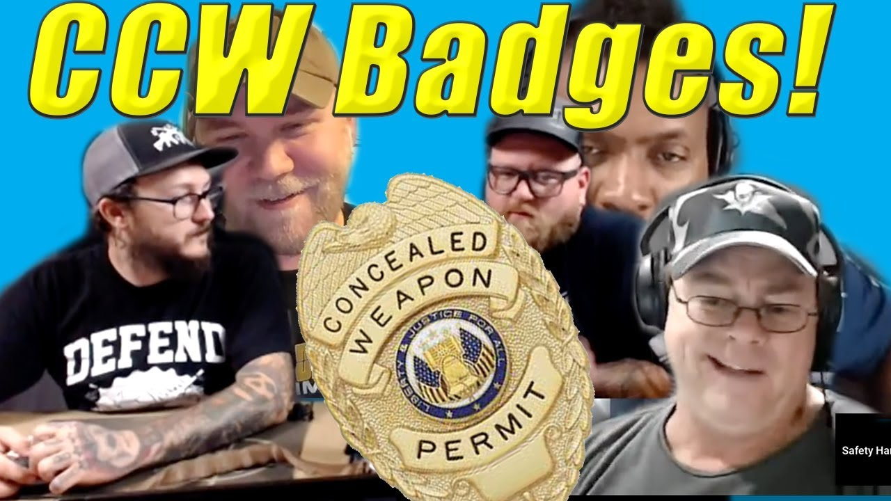 Conceal Carry Badges : What Do We Think?!?