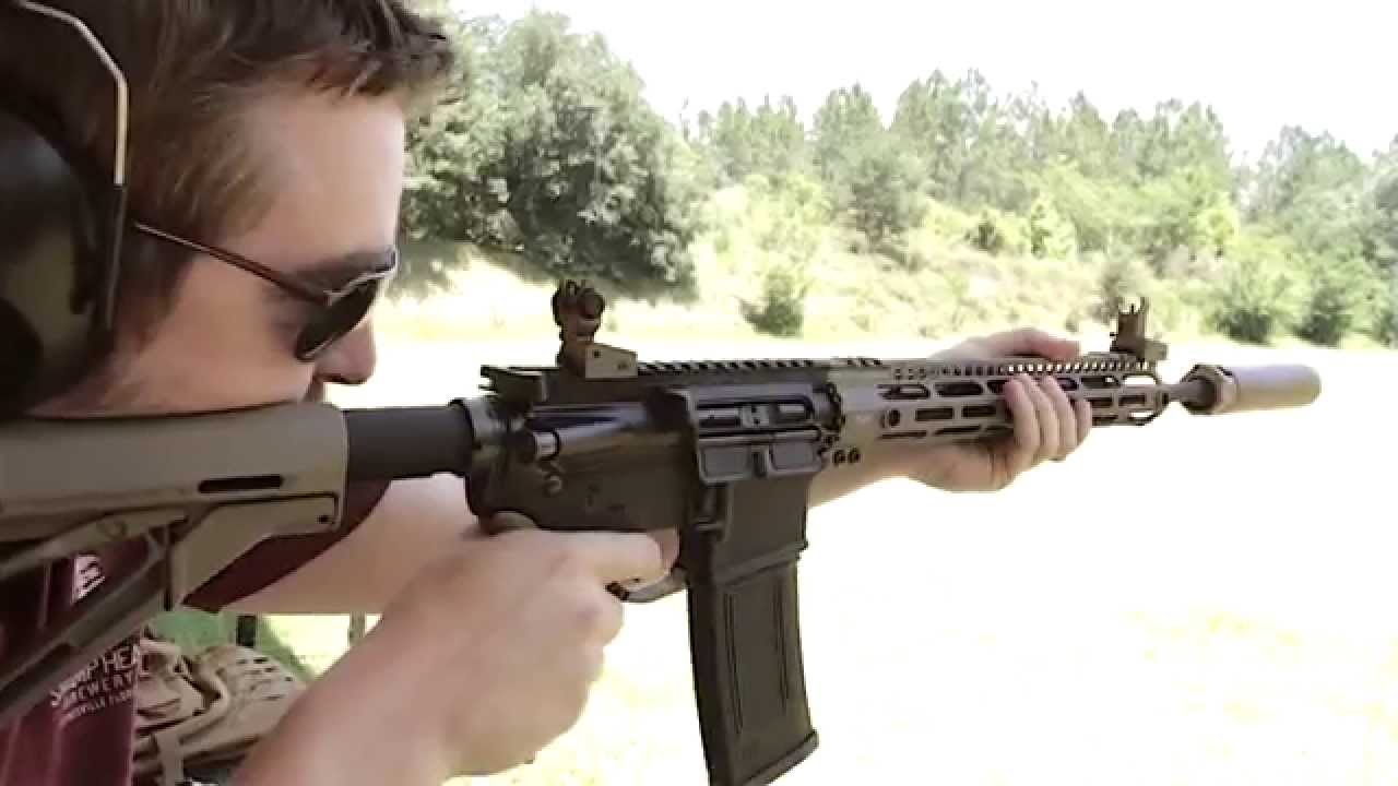Shooting Lightweight AR-15 Midwest Industries