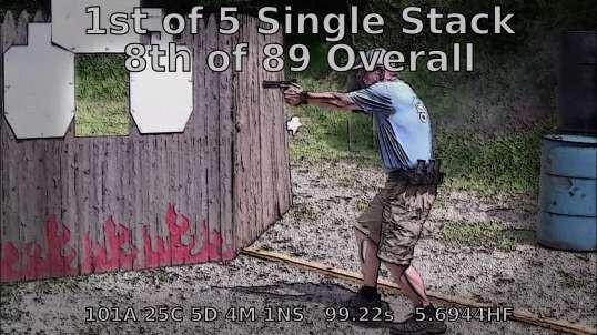 USPSA @ PMSC - Oct 2018 - Making Master in Single Stack!