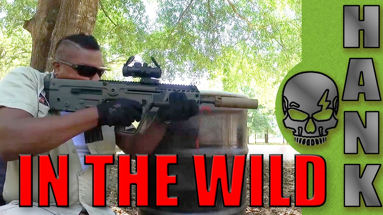 X95 Bullpup Rifle In The Wild