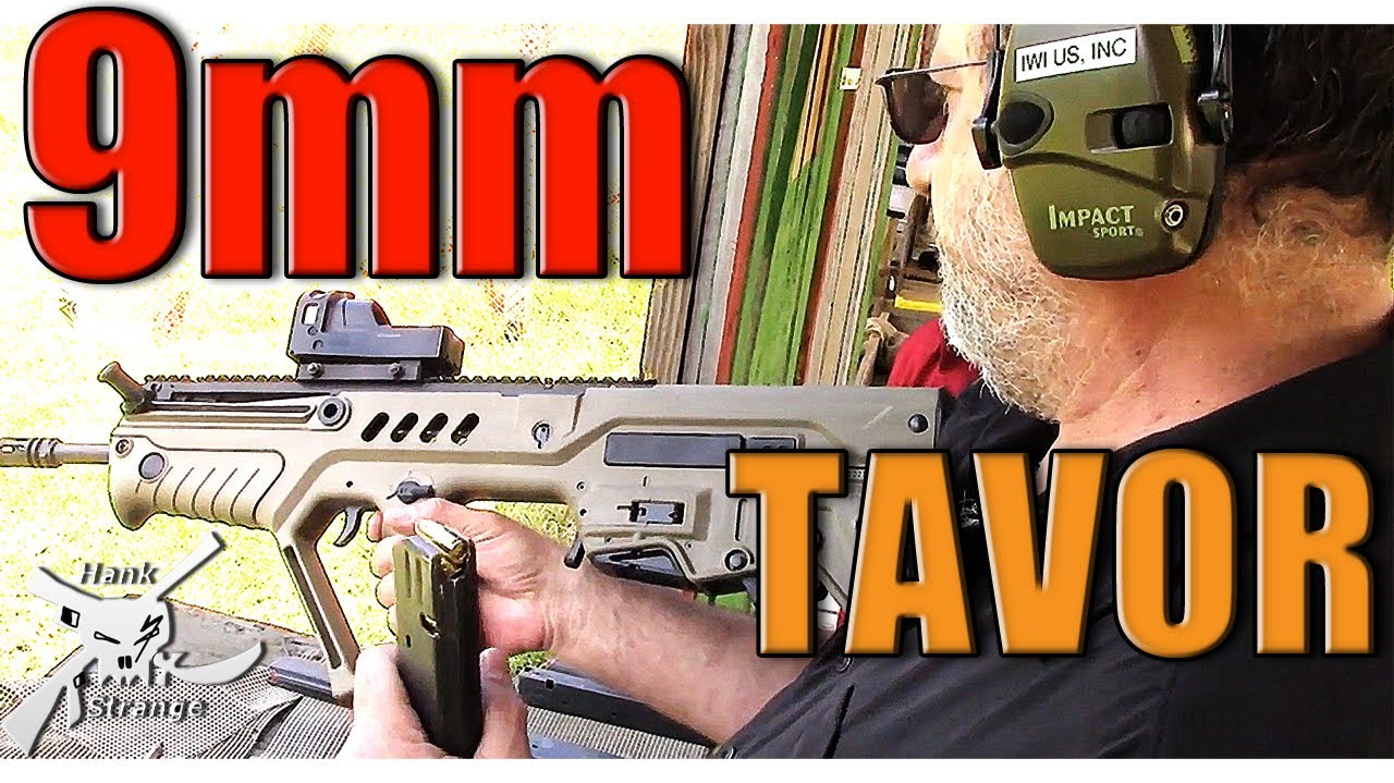 Shooting IWI Tavor 9mm Pistol Caliber Carbine Conversion Kit & Suppressed Tavor
