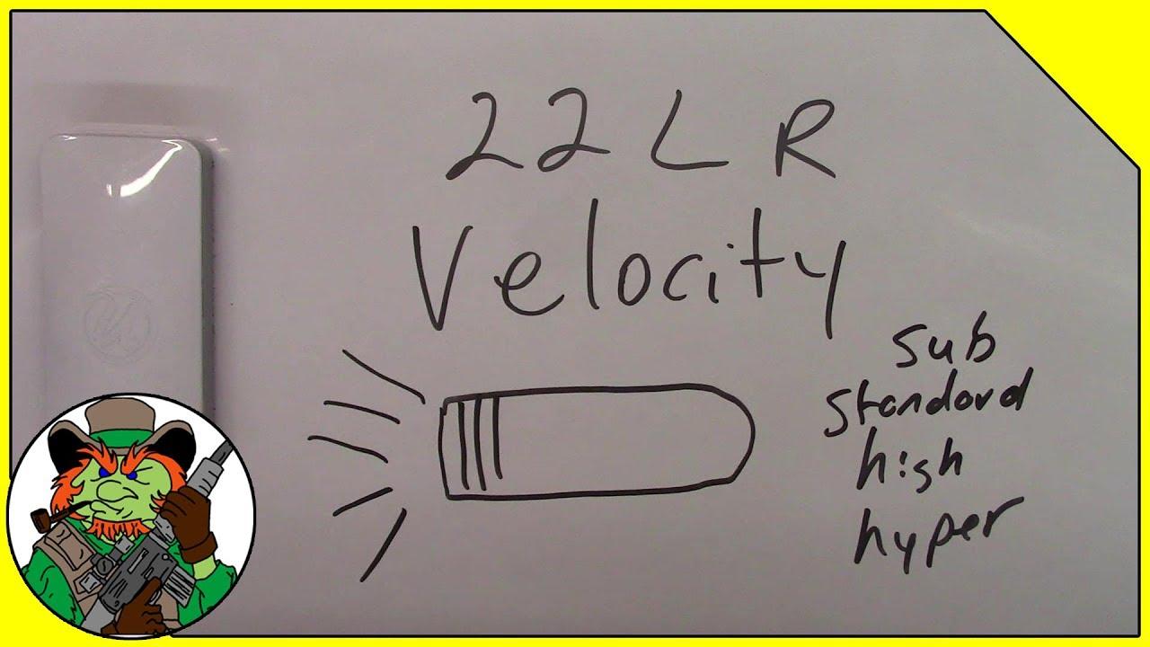 22LR Velocity Explained - CloverTac Classroom #004