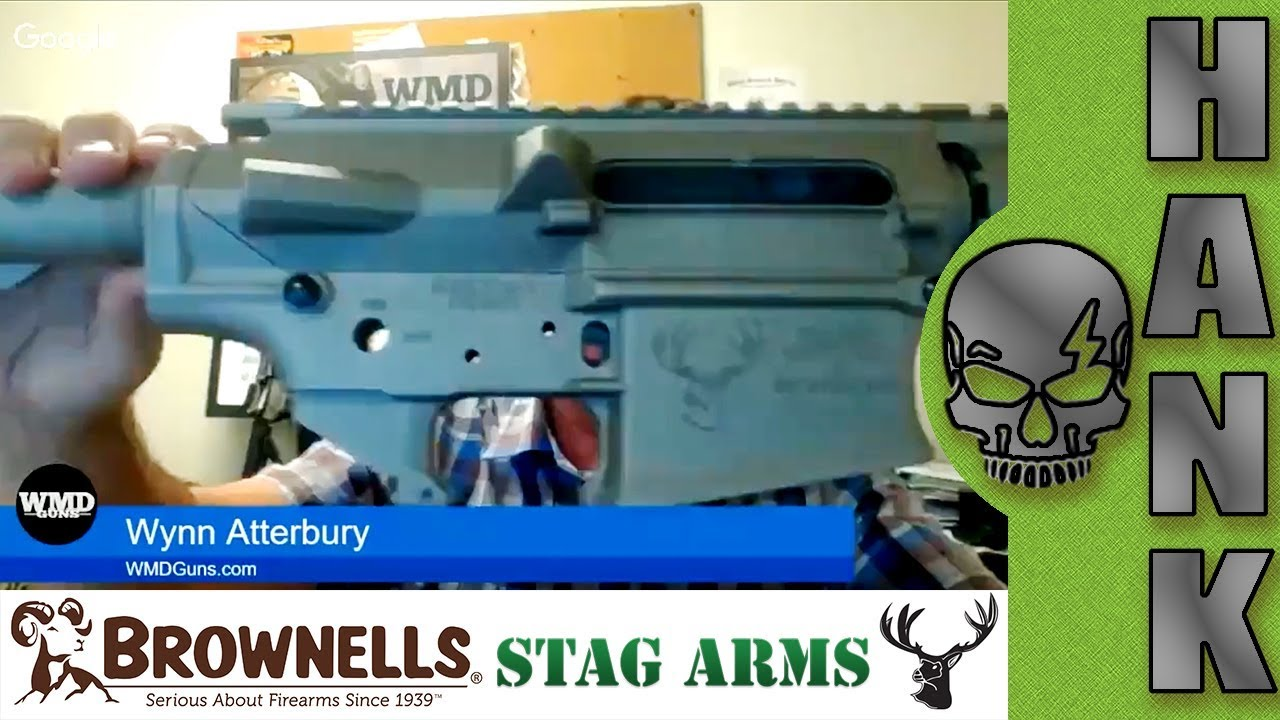 A Bone To Pick!  WMD Guns Nib-X Coating Stag Arms AR-10 308
