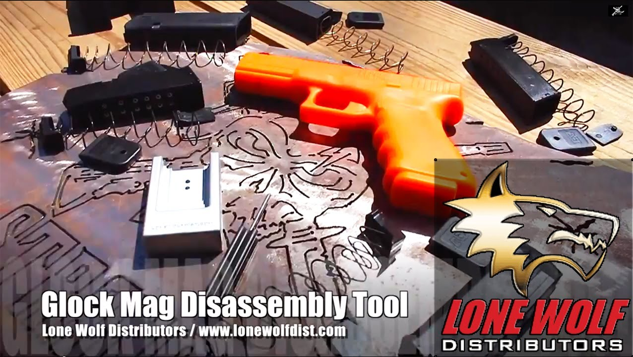 Prototype Glock Magazine Disassembly Tool from Lone Wolf Distributors