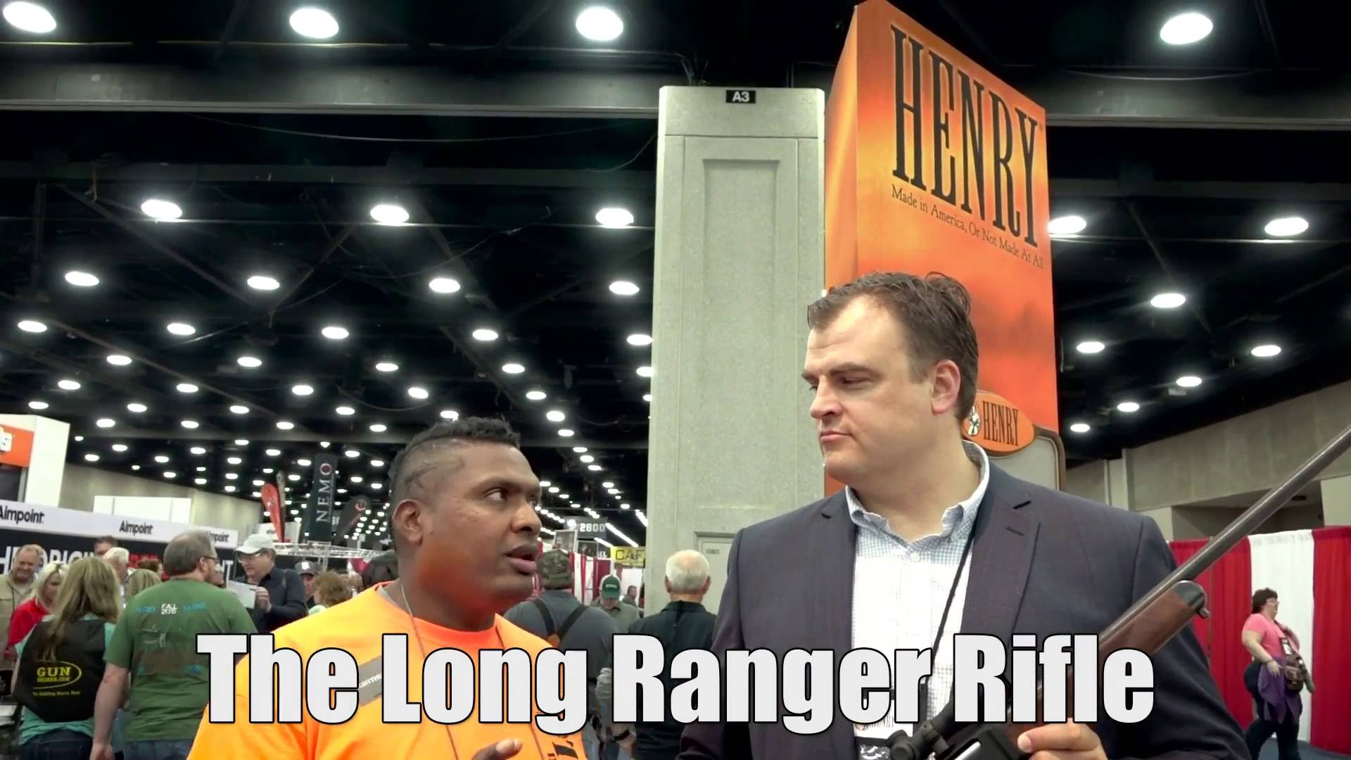 The Long Ranger Rifle NRA 2016