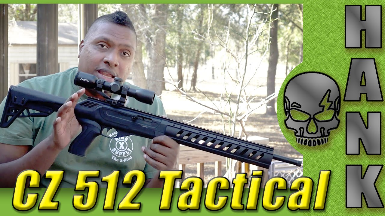 512 Tactical 22 Magnum Rifle from CZ-USA