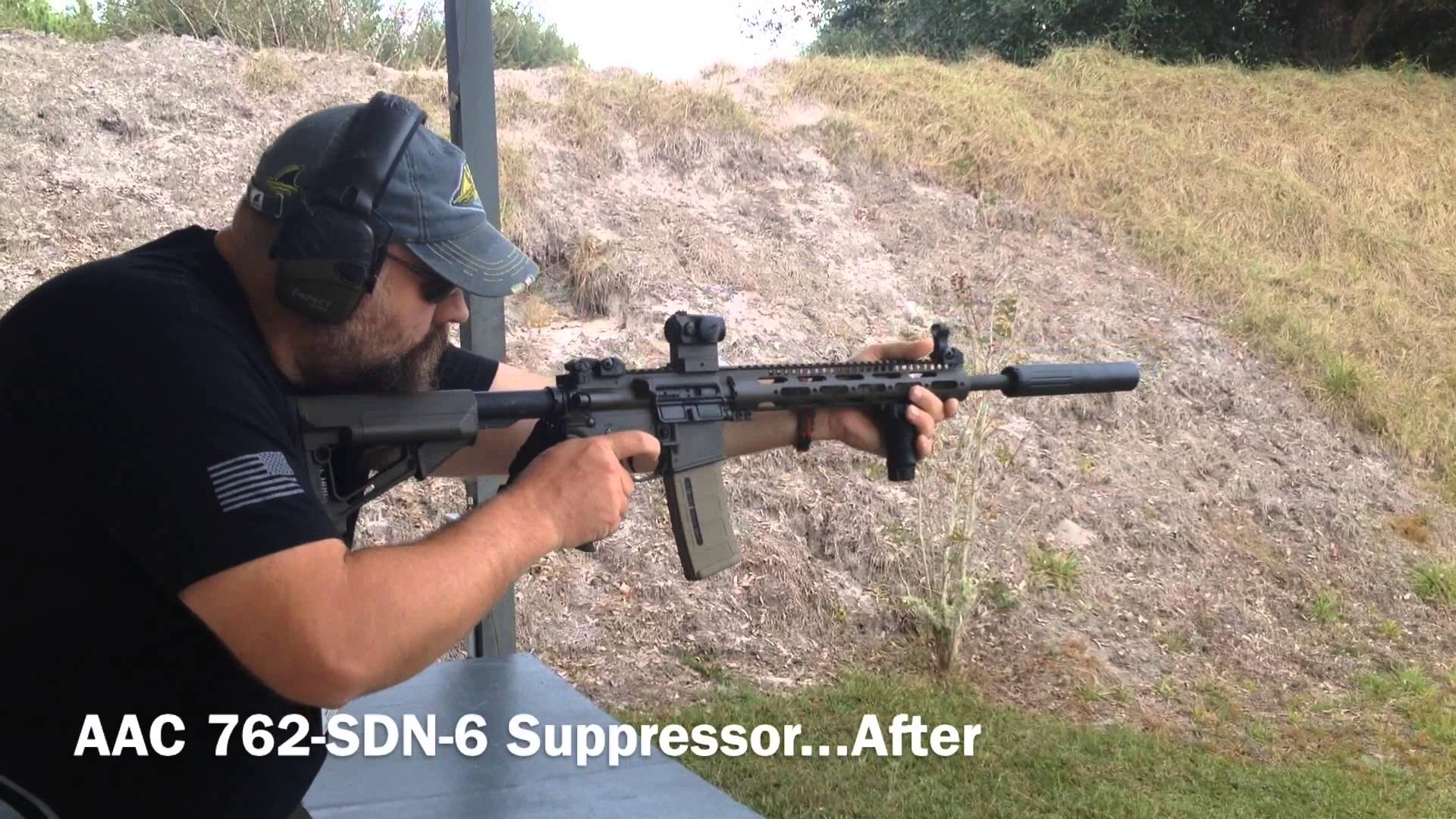 Shooting Suppressed Colt LE 6920 Rifle Tactical Fringe & Mr. YACYAS