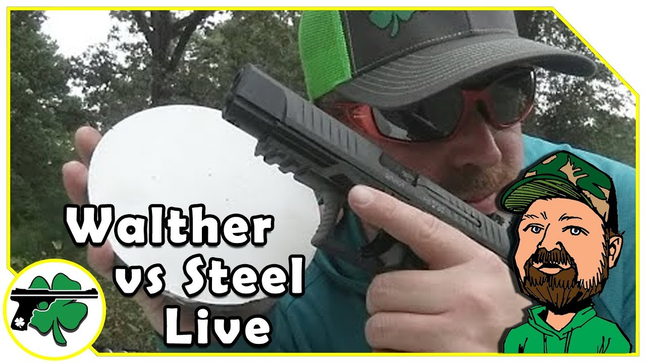 Walther PPQ M2 Vs Steel LIVE
