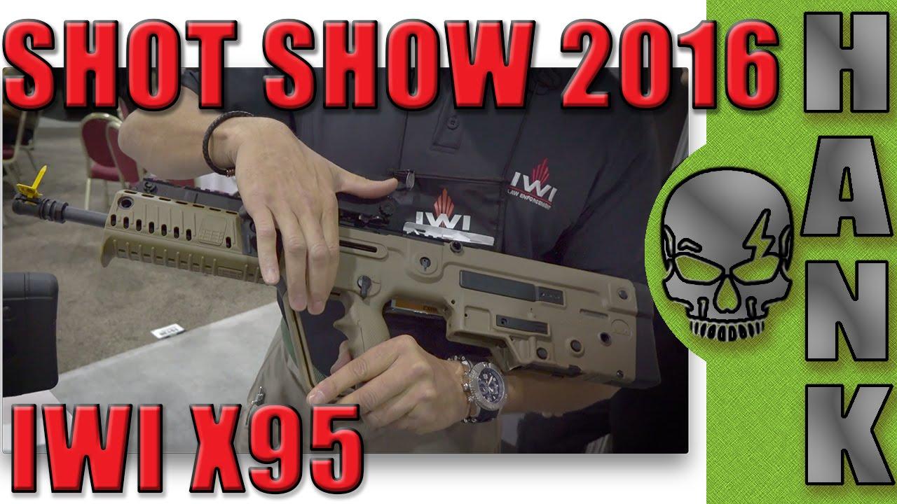 IWI US X95 SHOT Show 2016