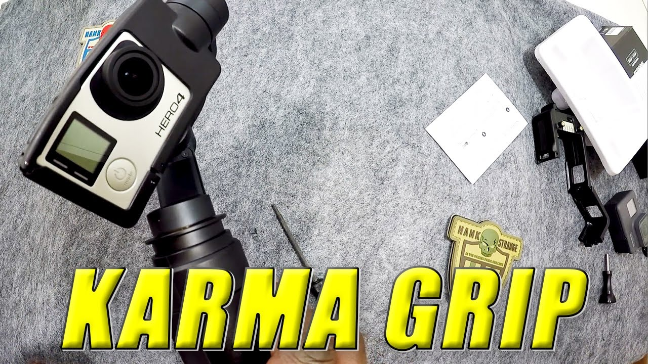 GoPro Karma Grip Hero4 Harness Install