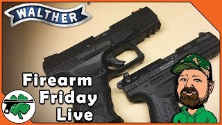 Talking Shop With Walther Arms - Firearm Friday LIVE